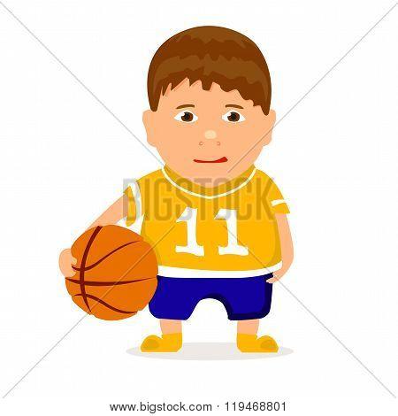 young basketballer