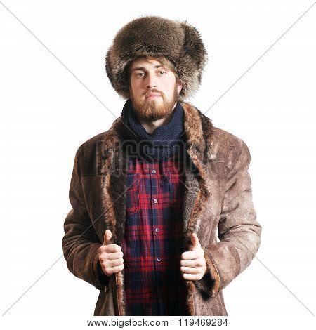 Man in the coat