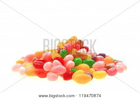 Jelly Beans Isolated