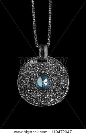 Medallion On Black