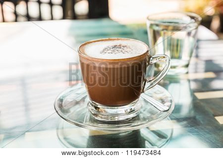 Hot Coffee (mocaccino)