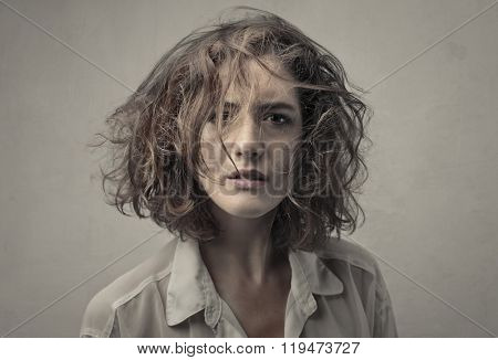 Confused woman