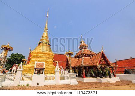 Golden Buddhist Pagoda