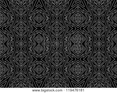 Background Tribal Black White Aztec Maya Texture 2