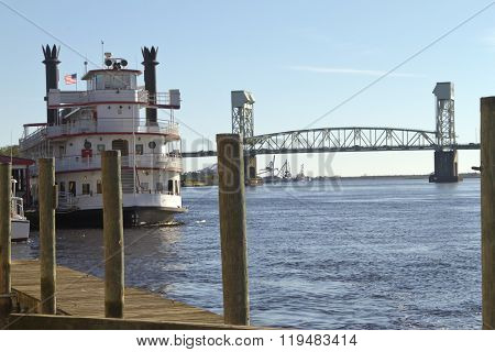 Cape Fear River Tour Boat