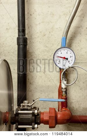 Bar Meter Of Water Pipes