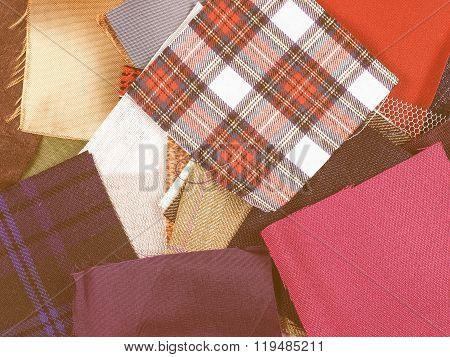 Fabric Samples Vintage