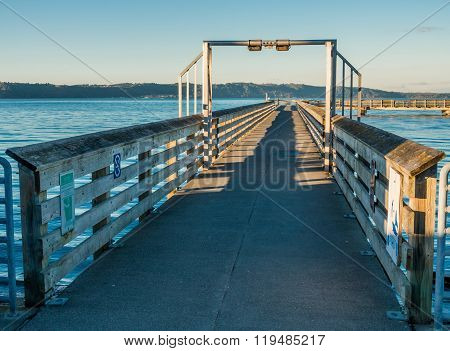 Pier At High Tide 3