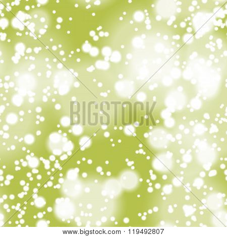 Colorful blurred background with snow overlay, seamless