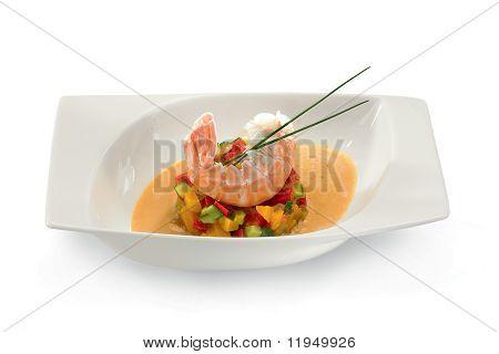 Garnelen-Suppe