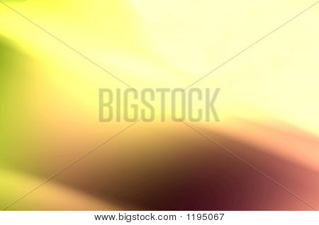 Abstract Composition, Liquid Gold