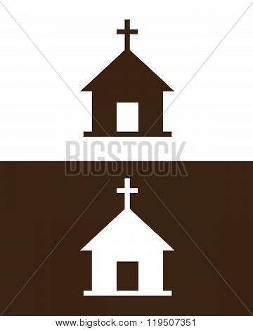 Vector church icon set