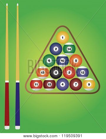 Vector Billiards Set