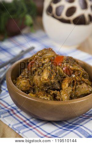 Chakhokhbili - Recipe Of Georgian Cuisine