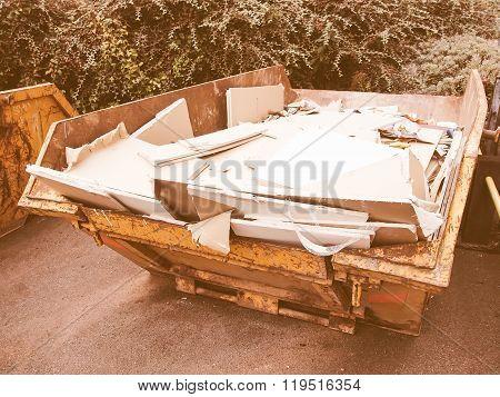 Dumper For Debris Vintage