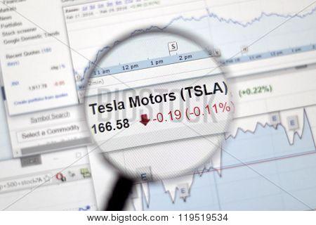 Tsla - Tesla Stock