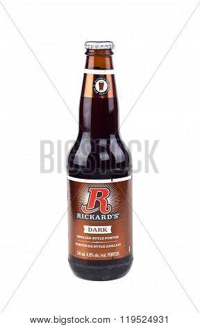 Rickard's Dark Beer.