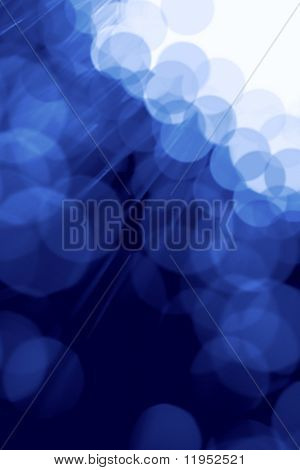 Fiber optics abstract background