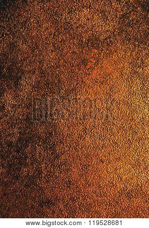 Antique Bronze  Background. Vertical