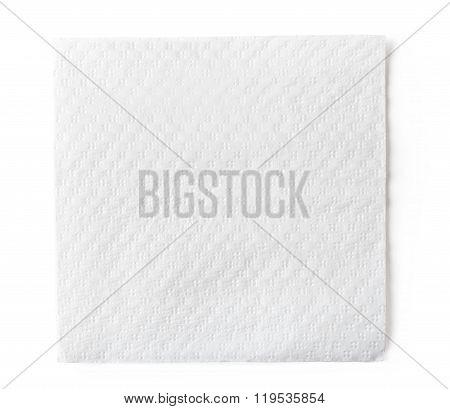 White Paper Napkin
