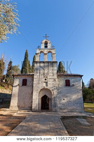 Church Of St George (11Th C.) In Podgorica, Montenegro