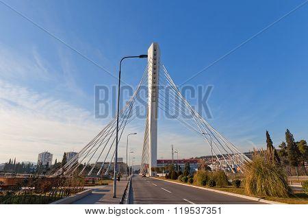 Millennium Bridge (2005)  In Podgorica, Montenegro