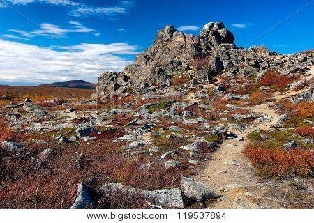 Granite Tor At Finger Mountain