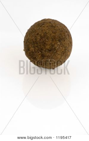 Brandy Truffle Isolated