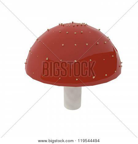 Mushroom, Red And White