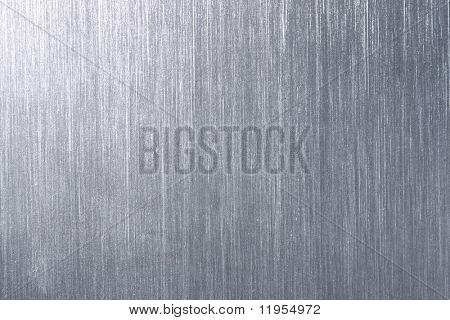 Placa de metal cepillada