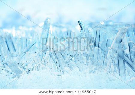 Crystals macro - shallow DOF