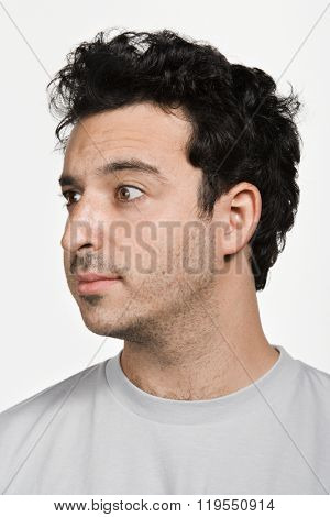 Portrait of mid adult Caucasian man