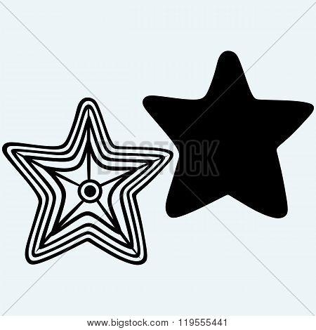 The caribbean starfish