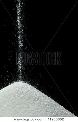 Sand/salt falling
