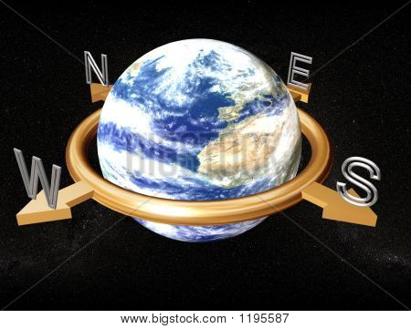 Bússola de terra