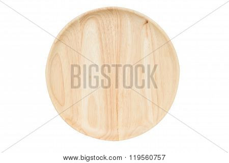 Isolated Wooden Dish - Kitchenwear