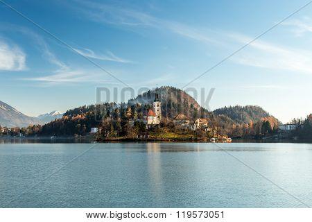 Morning At The Lake Of Bled