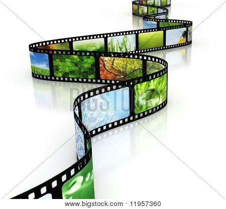 Filme com imagens