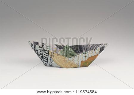 Hundred Dollar Bill Boat
