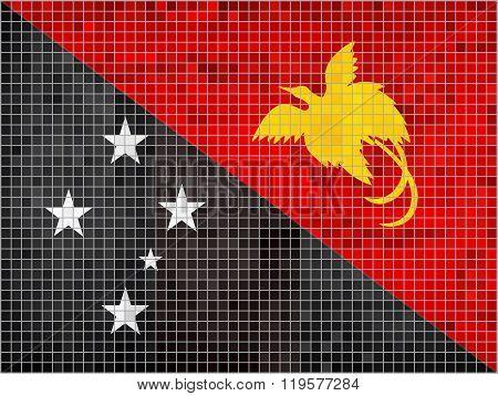 Flag Of Papua New Guinea.eps