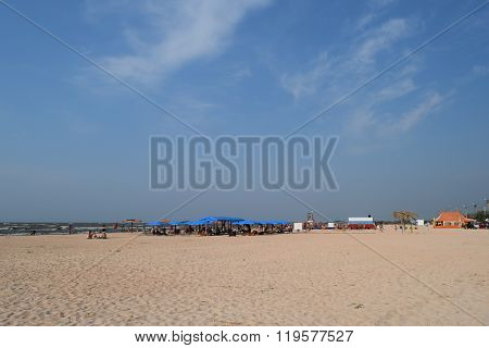 The Beach At The Recreation Center