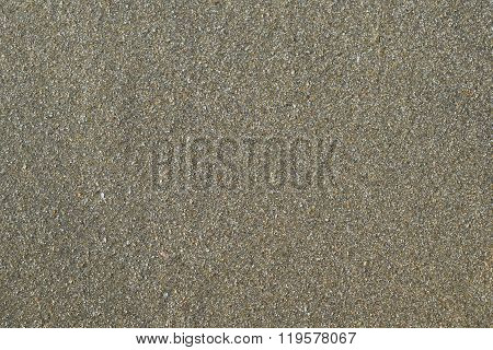 Background Wet Sand Of The Sea