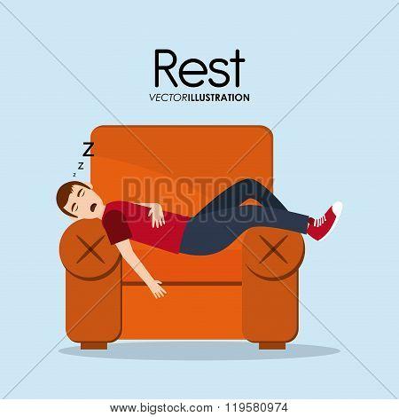 Resting icon design
