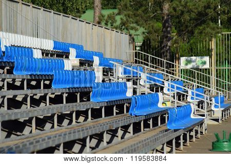 The Seats In The Stadium