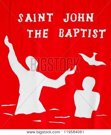 Saint John The Baptist Cloth