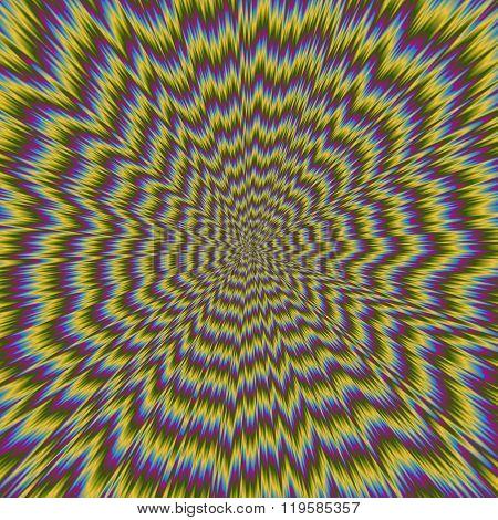 Illustration Of Psycho Pattern