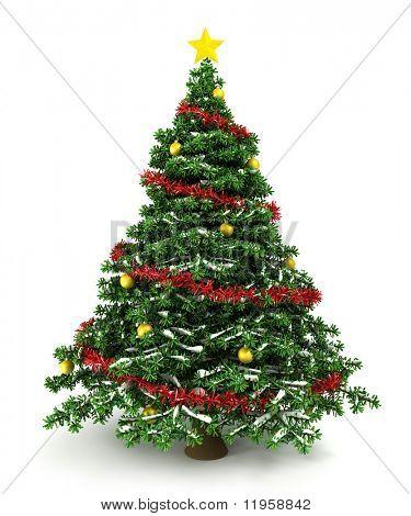 3D Weihnachtsbaum