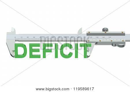 Deficit Measuring Concept