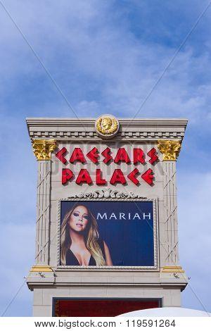 Caesars Palace On The Las Vegas Strip