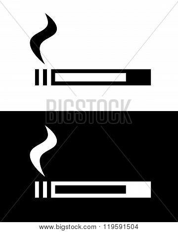 Vector Cigarette Set in Black and Reverse